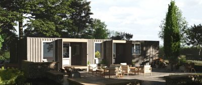 Bison Container Homes exterior