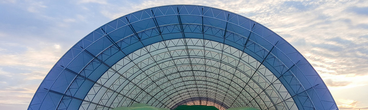 Cobra Structures fabric buildings