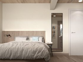 Bison Container Homes family home master bedroom