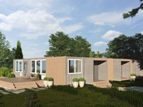 Bison Container Homes exterior home