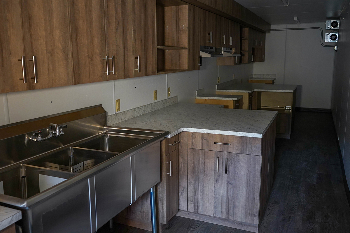 Bison Container Homes kitchen
