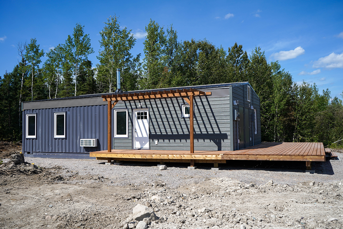 Bison Container Homes duplex model