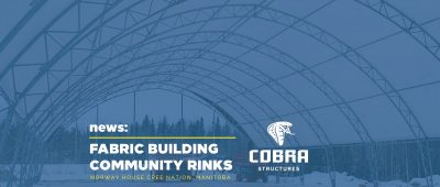 Cobra Structures fabric building community rink norway house